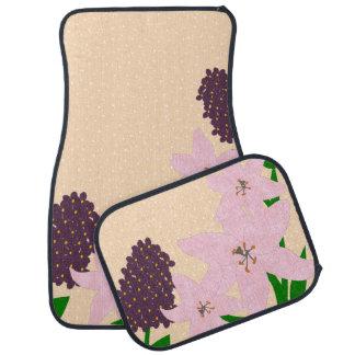 Lis et lilas tapis de sol