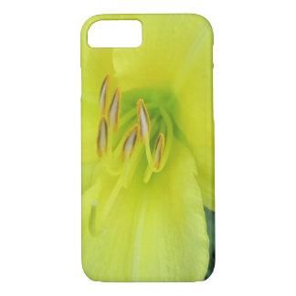 Lis jaune citron coque iPhone 7
