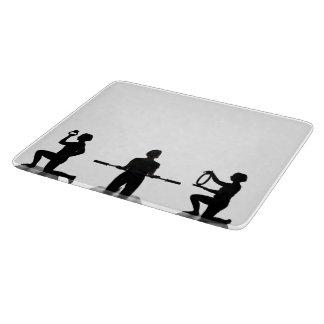 Lisa Carusone Silhouette Glass Cutting Board
