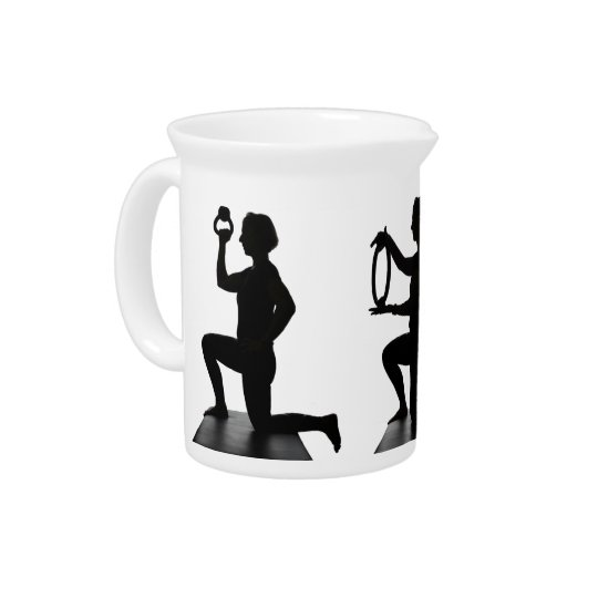 Lisa Carusone Silhouette Small Pitcher