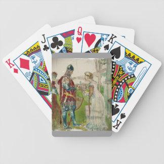 Lisana och Margon Knight Bicycle Playing Cards