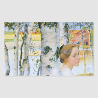 Lisbeth  at the Birch Trees