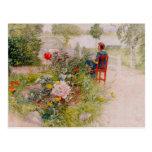 Lisbeth  in the Flower Garden