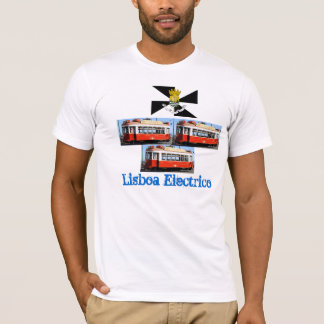 Lisboa*  Portugal Carro Electrico T-shirt