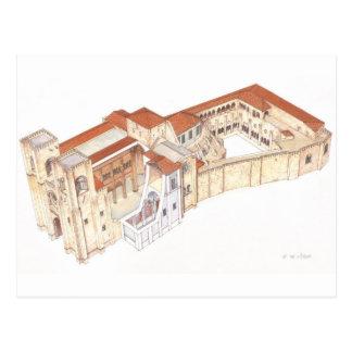 Lisboa Portugal. Cathedral Postcard
