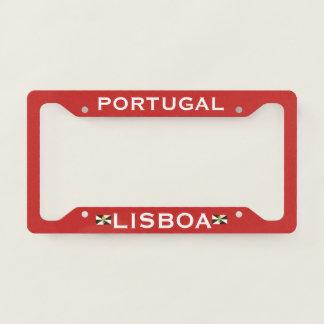 Lisboa Portugal License Plate Frame