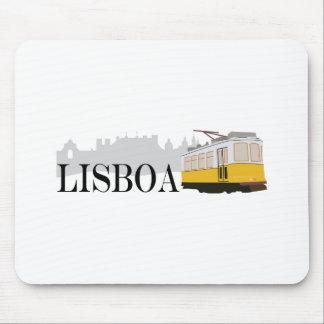 Lisboa Tram Mouse Pad