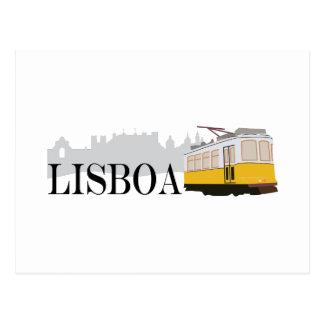 Lisboa Tram Postcard