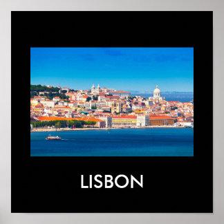 Lisbon 002W Poster