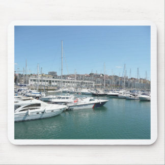Lisbon Docks Mouse Pad