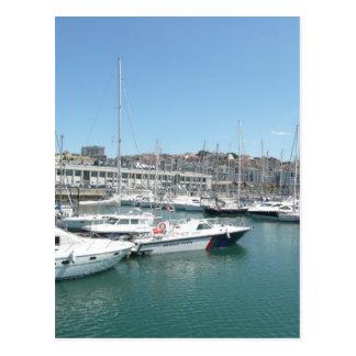 Lisbon Docks Postcard