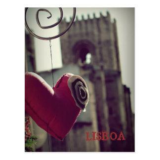 Lisbon girl… postcard