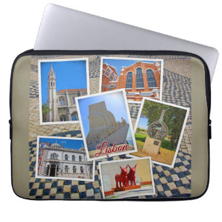 Lisbon Jeronimos Monastery & Discoveries Monument Laptop Sleeve