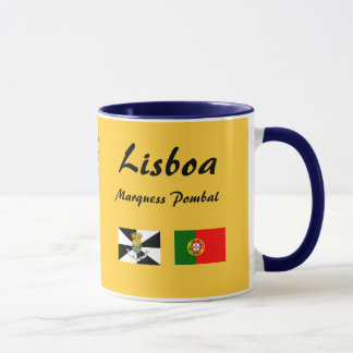 Lisbon* Portugal Panoramic Mug