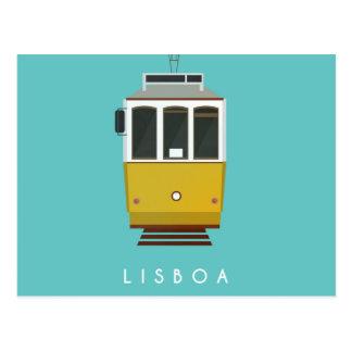 Lisbon Postcard Tram