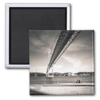 Lisbon River Tagus photo magnet
