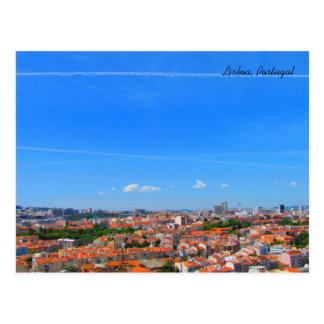 Lisbon Skyline ~ Lisbon, Portugal Postcard