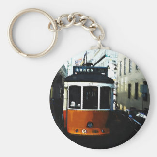 Lisbon tram keychain