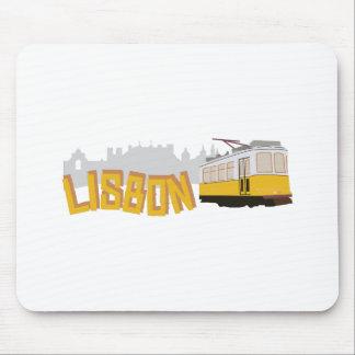 Lisbon Tram Mouse Pad