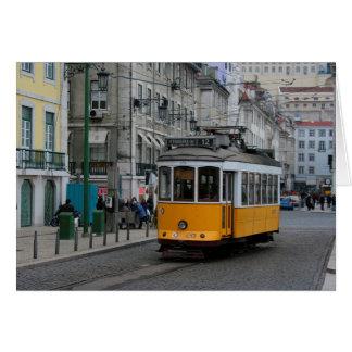 Lisbon tram Portugal Tranvias de Lisboa Card