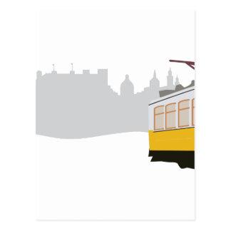 Lisbon Tram Postcard