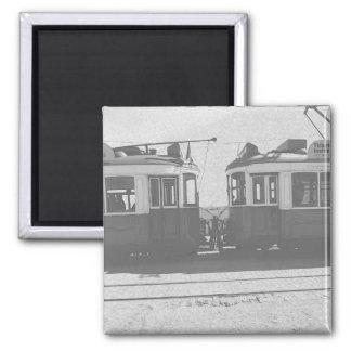 Lisbon trams magnet