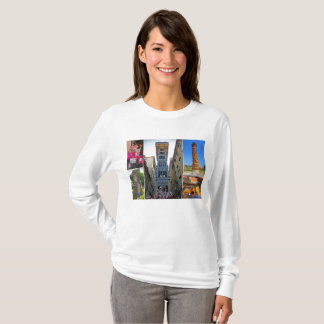 Lisbon Travel Collection – Santa Justa Elevator T-Shirt