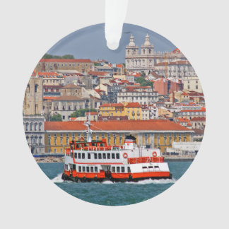 Lisbon view from Tagus river Ornament