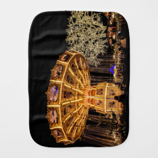 Liseberg theme park burp cloth