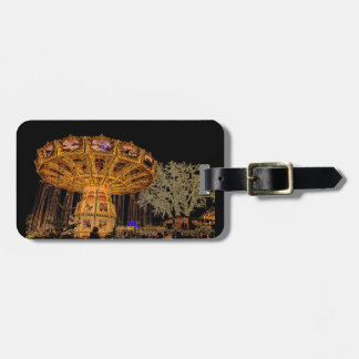 Liseberg theme park luggage tag