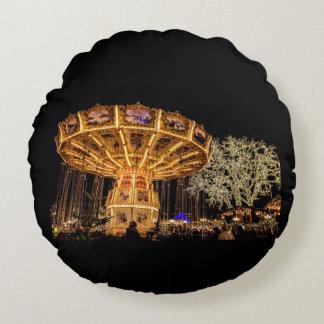 Liseberg theme park round pillow