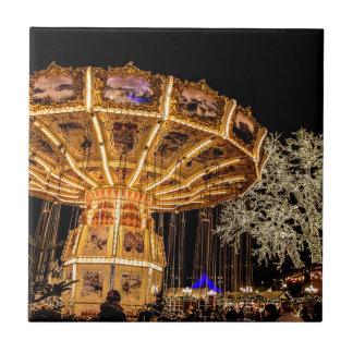 Liseberg theme park tile