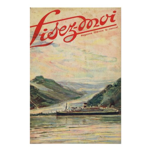 Lisez Moi cover;Cruising the fjiords Poster