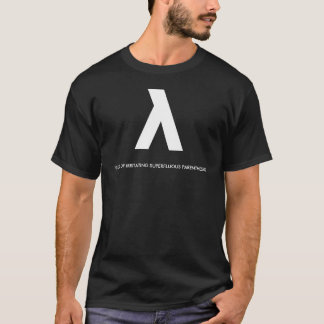 LISP: Lots of Irritating Superfluous Parentheses T-Shirt