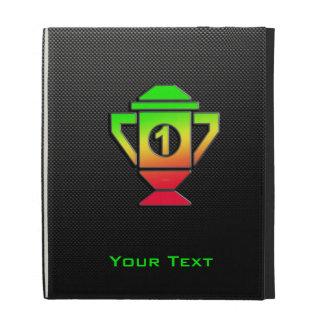 Lissez le ęr trophée d'endroit étuis iPad folio
