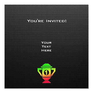 Lissez le ęr trophée d'endroit carton d'invitation  13,33 cm