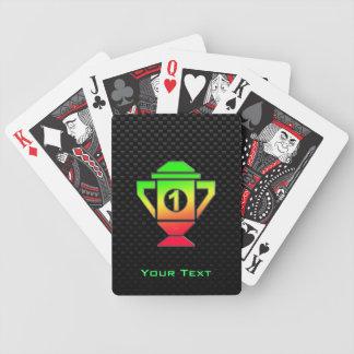 Lissez le ęr trophée d'endroit jeu de poker
