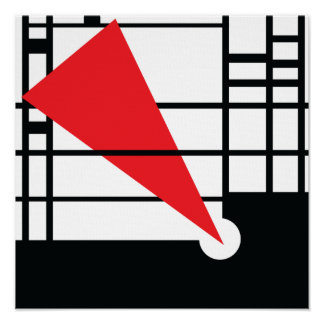 Lissitzky & Mondrian Poster