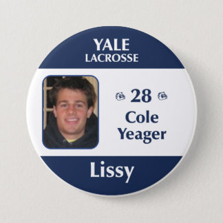 Lissy - Cole Yeager 3 Inch Round Button