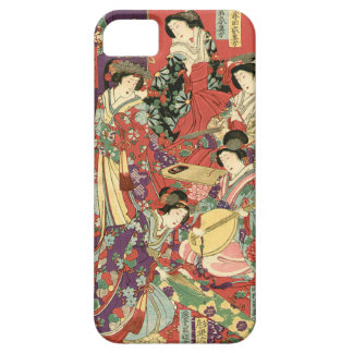 List of Noble Ladies by Toyohara Chikanobu iPhone 5 Cases