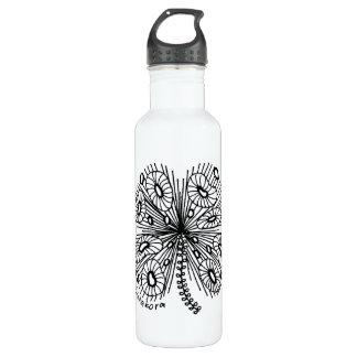 Listakora Whimsical Shamrock Water Bottle