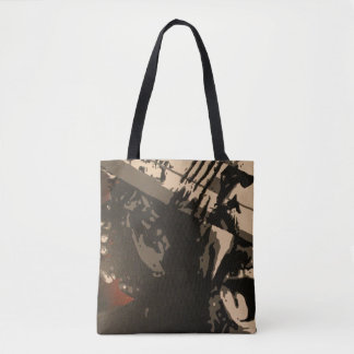 """""""Listen"""" All-Over-Print Tote Bag"""
