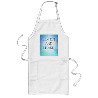 Listen and Learn Long Apron