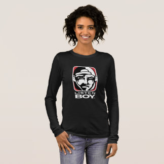 Listen BOY Clothing with Attitude Long Sleeve T-Shirt