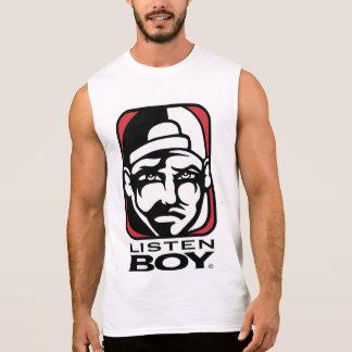 Listen BOY Clothing with Attitude Sleeveless Shirt