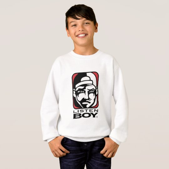 Listen BOY Clothing with Attitude Sweatshirt