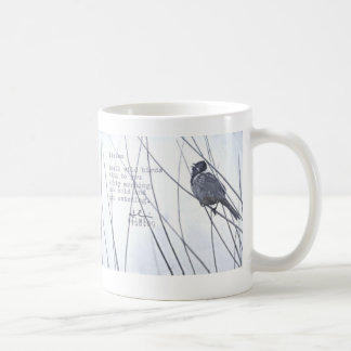 """listen"" coffee mug"