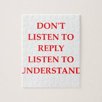 LISTEN JIGSAW PUZZLE
