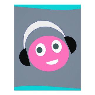 listen  music letterhead