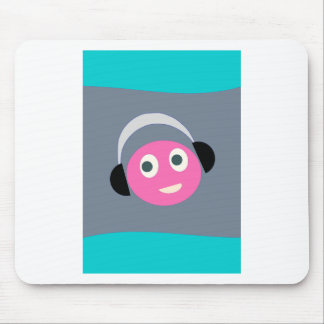 listen  music mouse pad